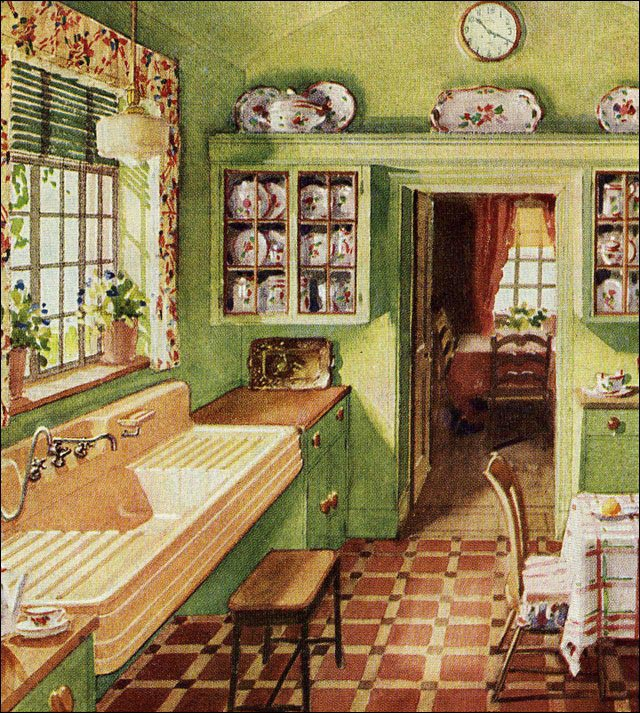 1929 kitchen curtains