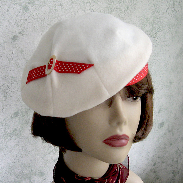 1930s beret sewing pattern