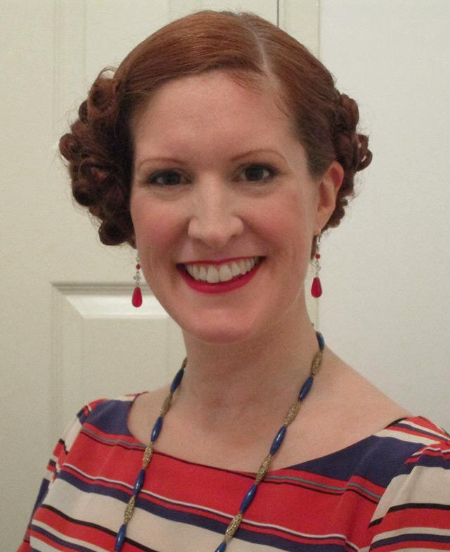 1930s hairstyle vintage gal