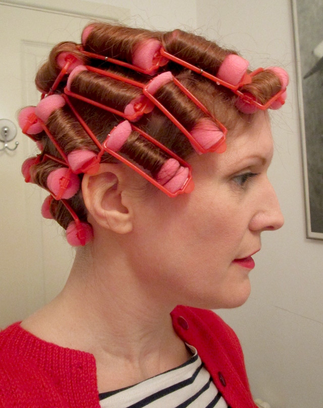 How I Style My 1930s Hair Vintage Gal