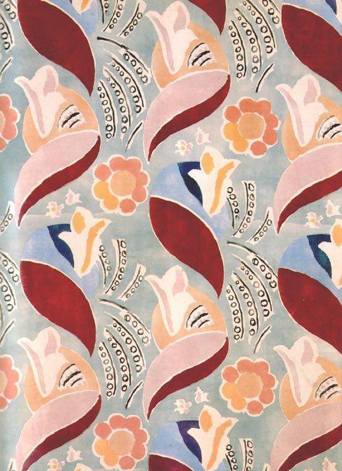 Duncan Grant fabric