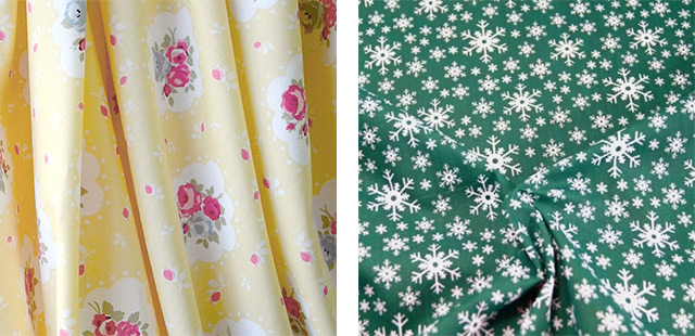 Fabrics for 1940s dress