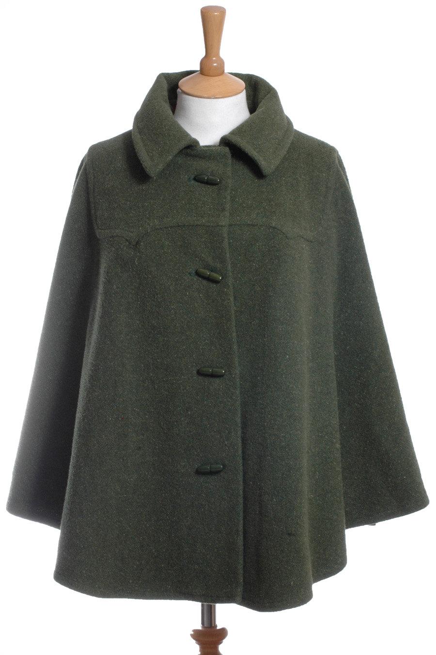 1970s wool cape