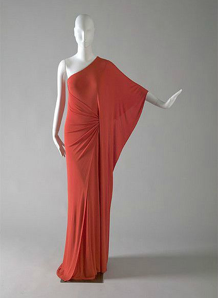 Halston evening gown, 1976