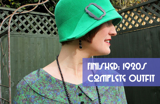 Finished: 1920s Complete Outfit