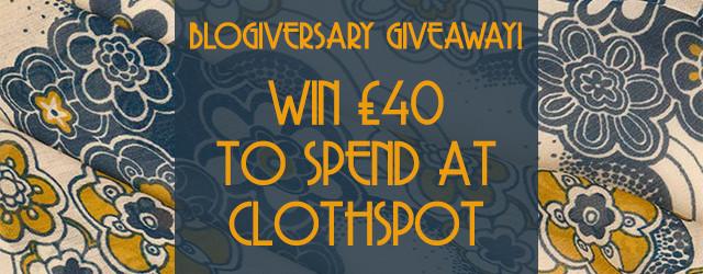 Clothspot £40 Giveaway