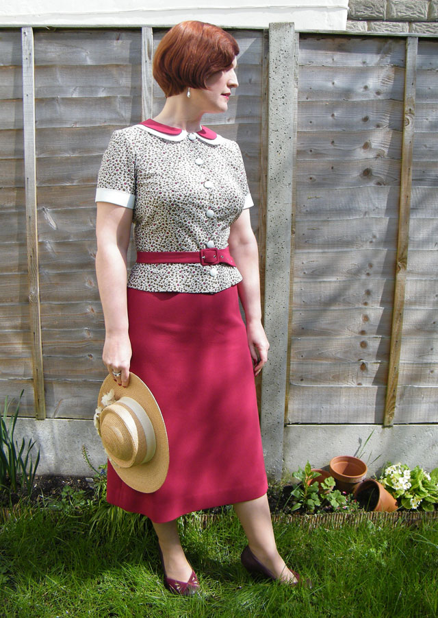 1930s blouse and skirt