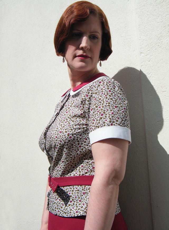1930s blouse cuff