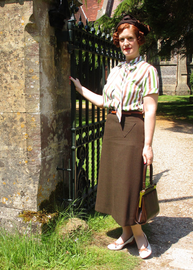 1930s skirt and blouse