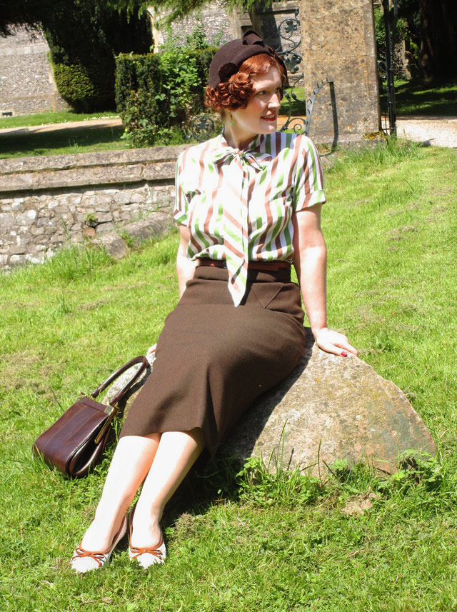 1930s outfit - Vintage Gal