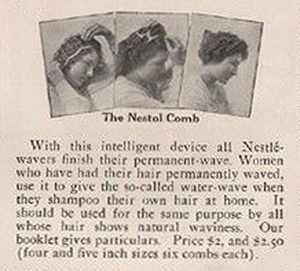 The Nestal comb by Charles Nessler