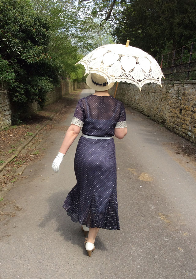 1930s vintage dress