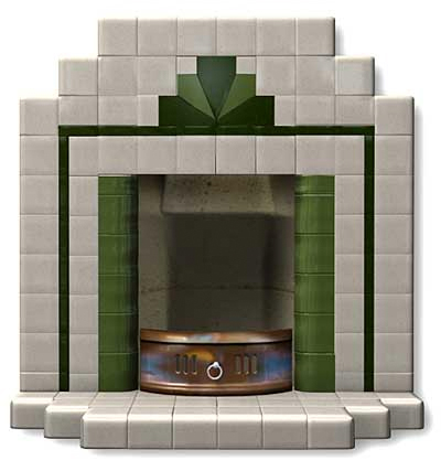 Art Deco Fireplace from 20th Century Fireplaces