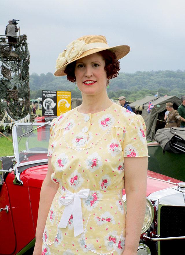 1930s summer dress