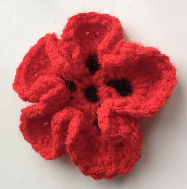 Crochet Poppy