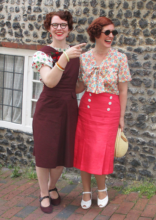 Frantically Jenny Francis and Vintage Gal