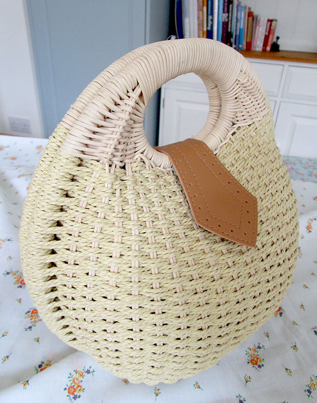 Collectif Alice Wicker Dome Bag