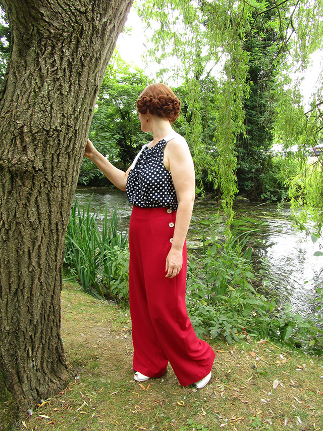 Pretty Retro 1930s trousers