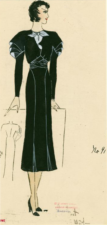 1930s graduated sleeves