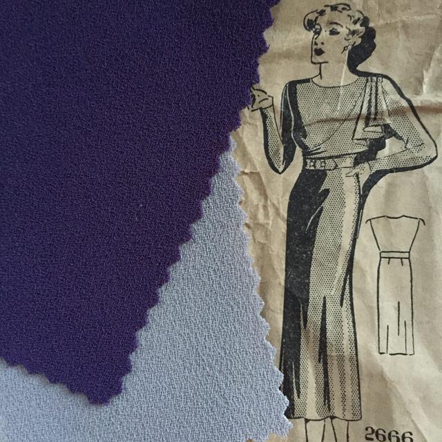 1930s Maudella dress pattern