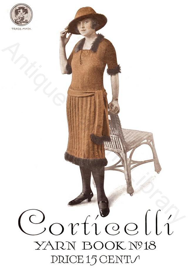 Corticelli crochet book