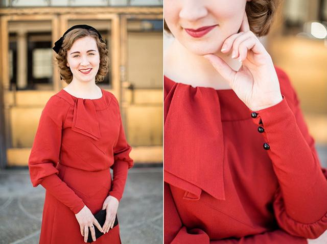 Mode de Lis 1930s dress