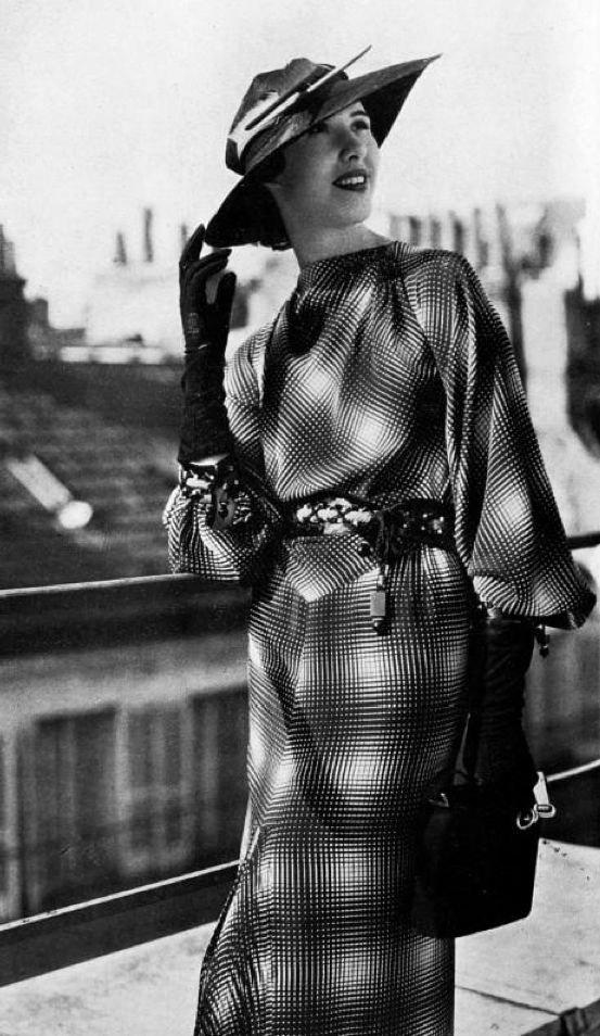 Worth dress 1936