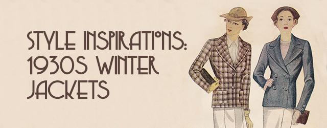 1930s Winter Jackets