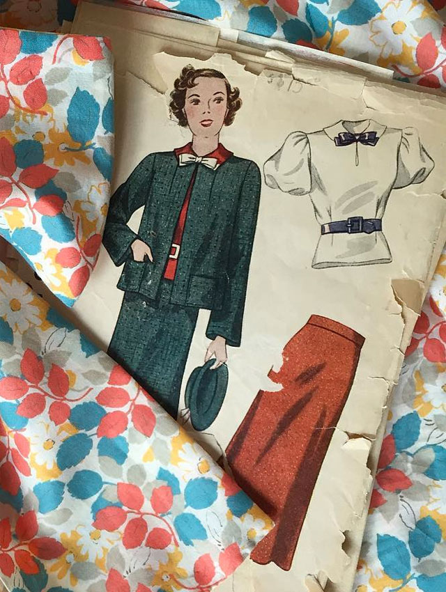 1930s Women's Suit pattern