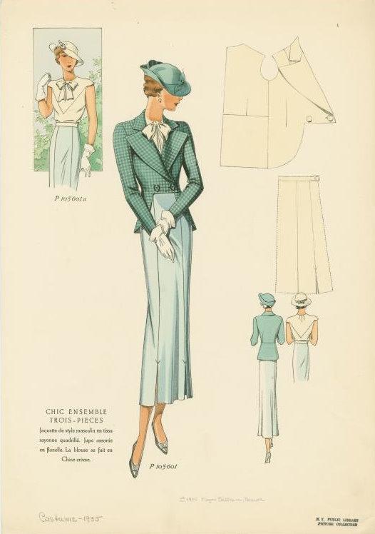 1935 Womens Jacket