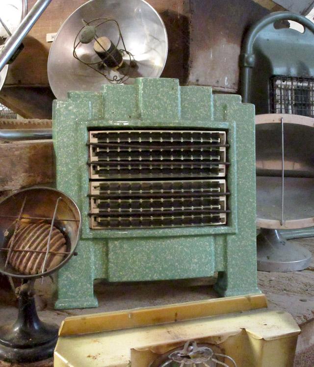 Art Deco Bakelite Fire