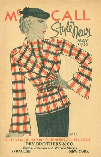 McCall Style News May 1935