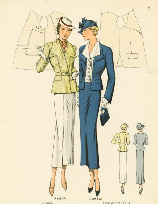 Mid 1930s jackets