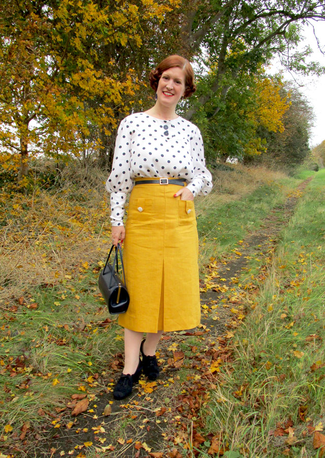 1930s separates - blouse and skirt