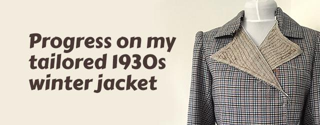1930s winter jacket