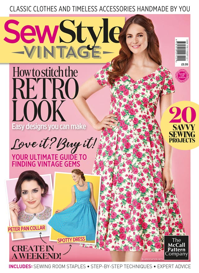 Sew Style Vintage magazine cover