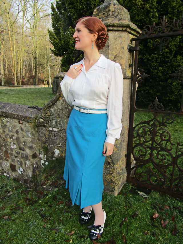 The House of Foxy 1930s Blouse