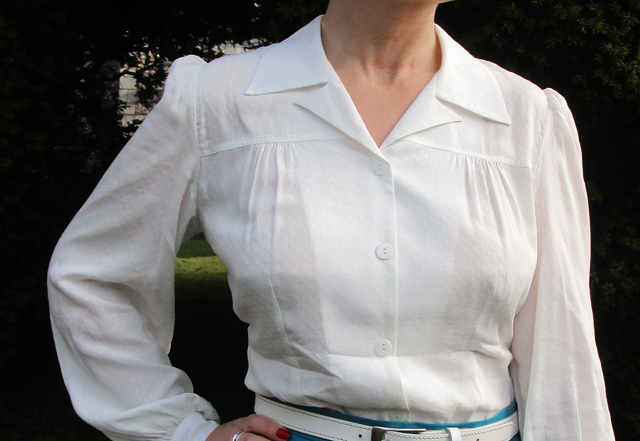 The House of Foxy late 1930s blouse