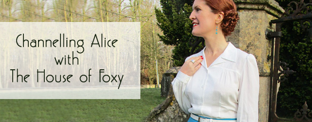 The House of Foxy blouse