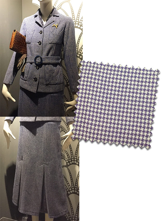 1930s dogtooth suit
