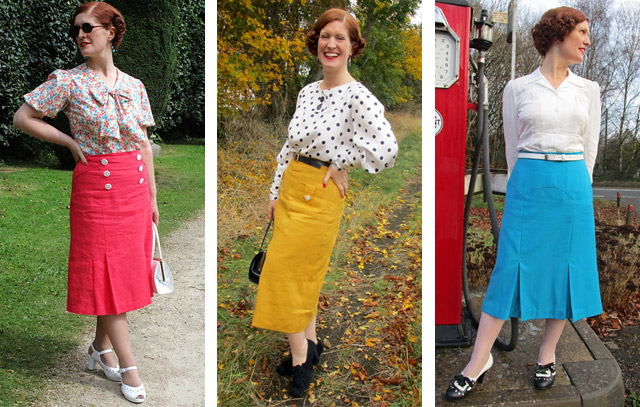 Vintage sewing autumn 2016