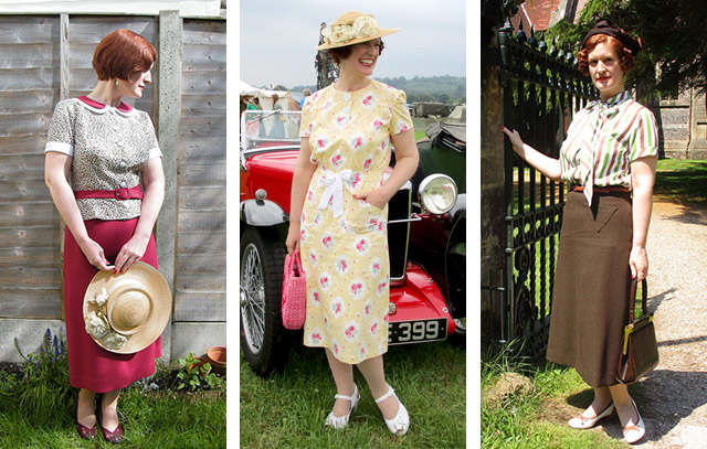 Vintage sewing summer 2016