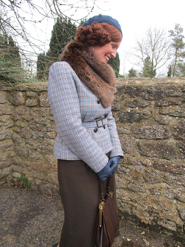 1930s country tweed outfit