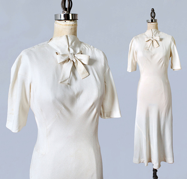 Madeleine Vionnet 1930s dress