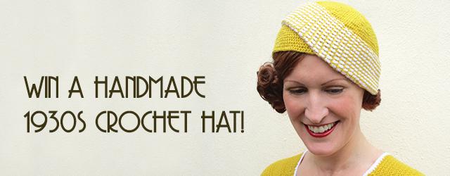 1930s crochet hat giveaway