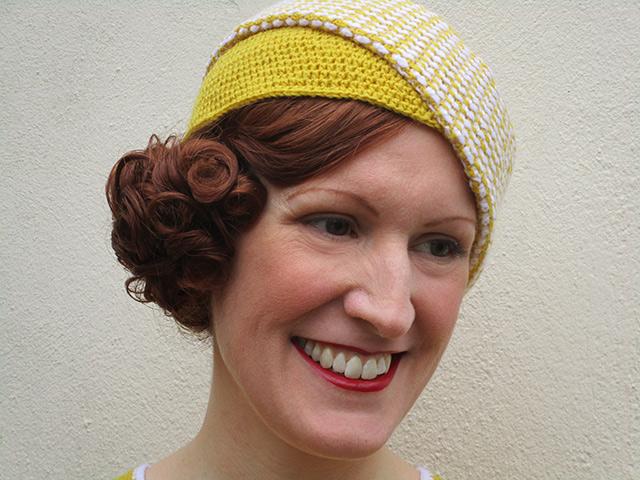 1930s crochet hat