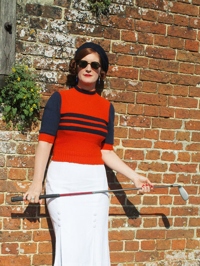 1930s sports jumper from Retruly