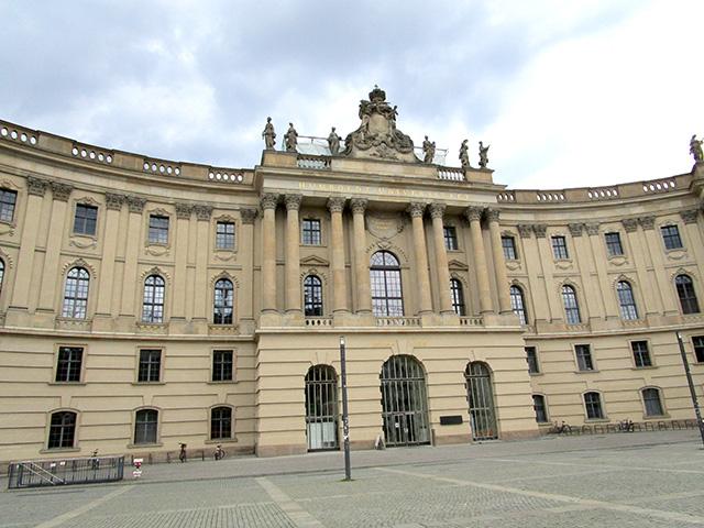 Humboldt University, Bebelplatz, Berlin