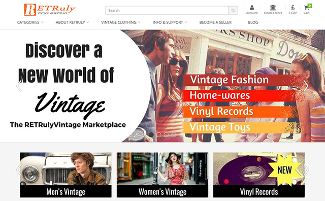 Retruly Vintage Marketplace