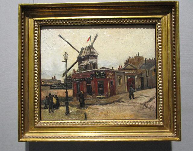 Van Gogh - Moulin de la Galette